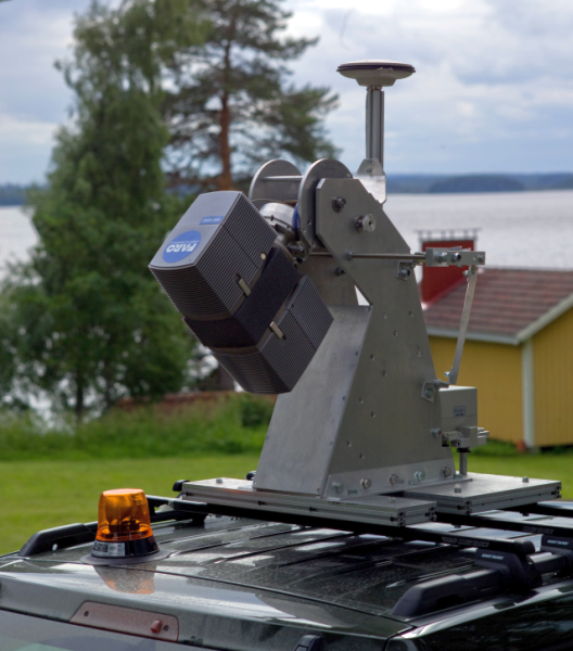 Mobile mapping hardware | National Land Survey of Finland