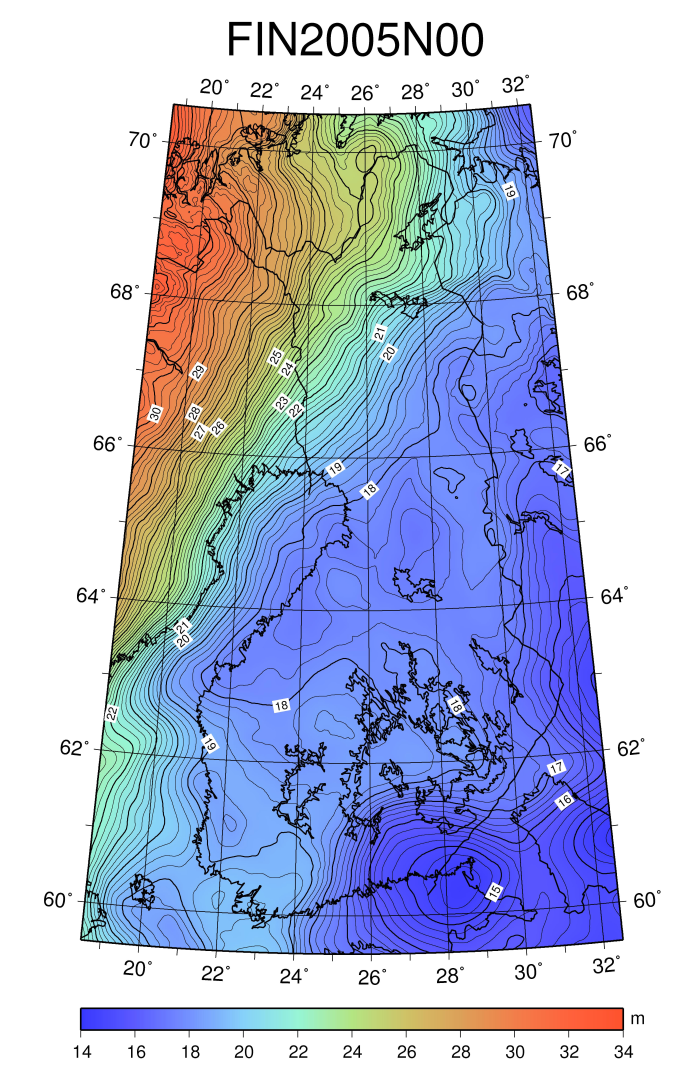 Geoid | National Land Survey of Finland