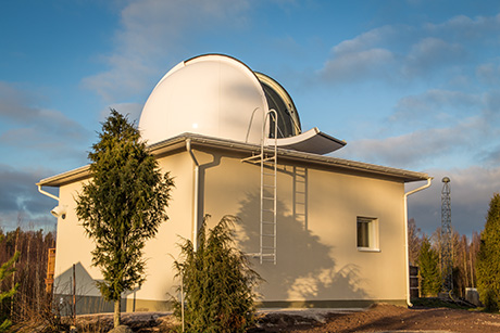The new SLR observatory at Metsähovi.