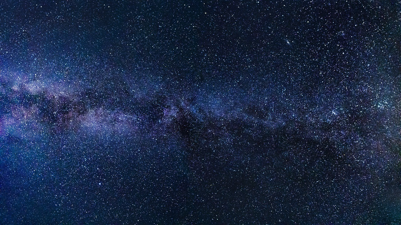A picture of the Milky Way