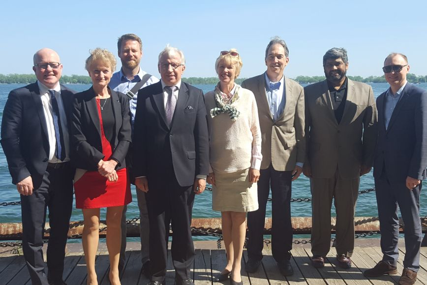 The Arctic SDI Board in a group photo.